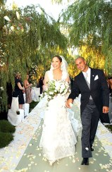 Jennifer Lopez Valentino Couture Wedding dress