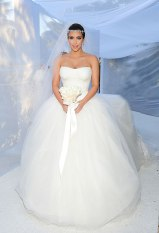 Kim Kardashian' Vera Wang Wedding Dress