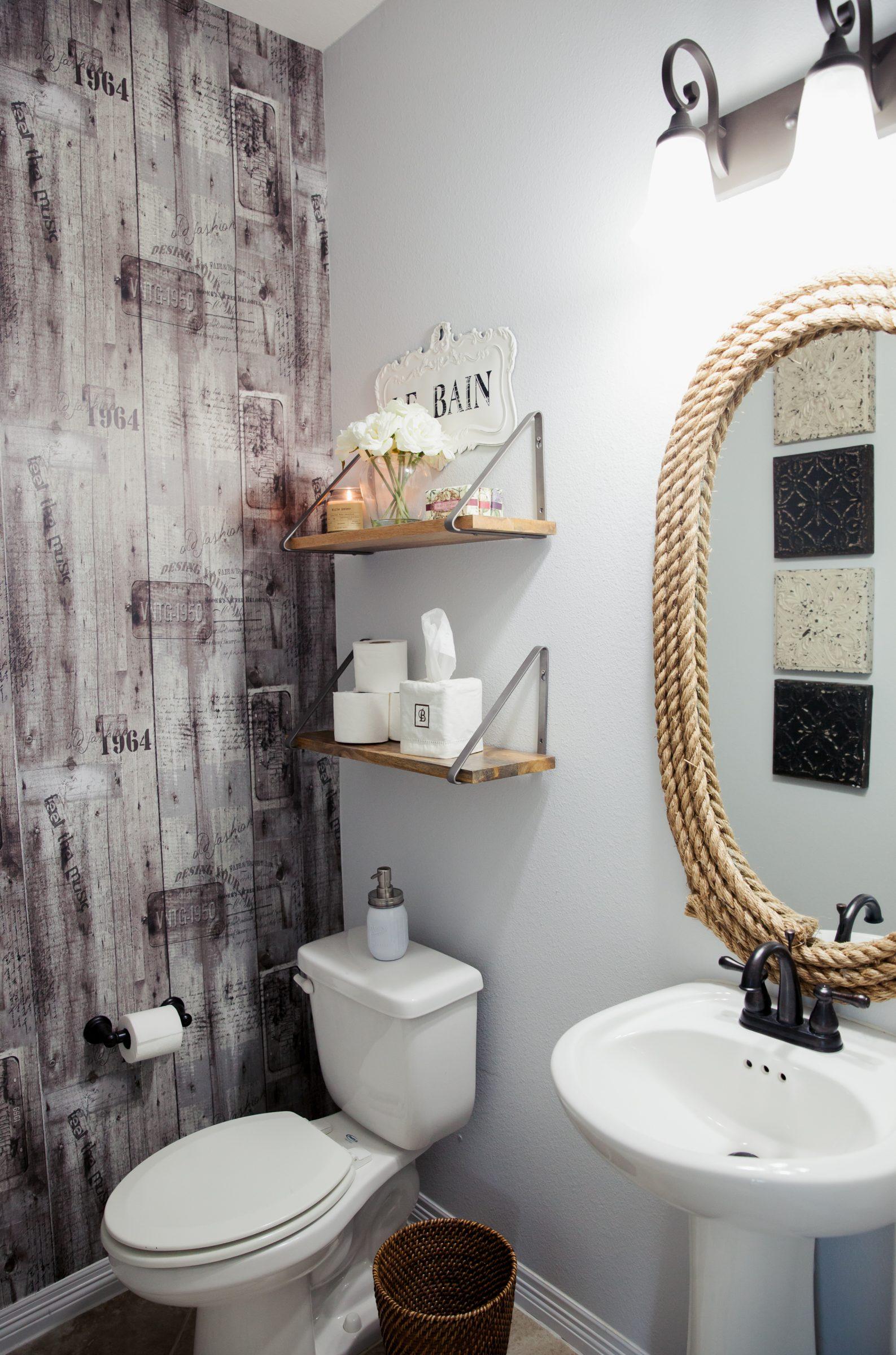 Ideas For Small Powder Room Novocom Top
