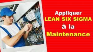 lean six sigma maintenance