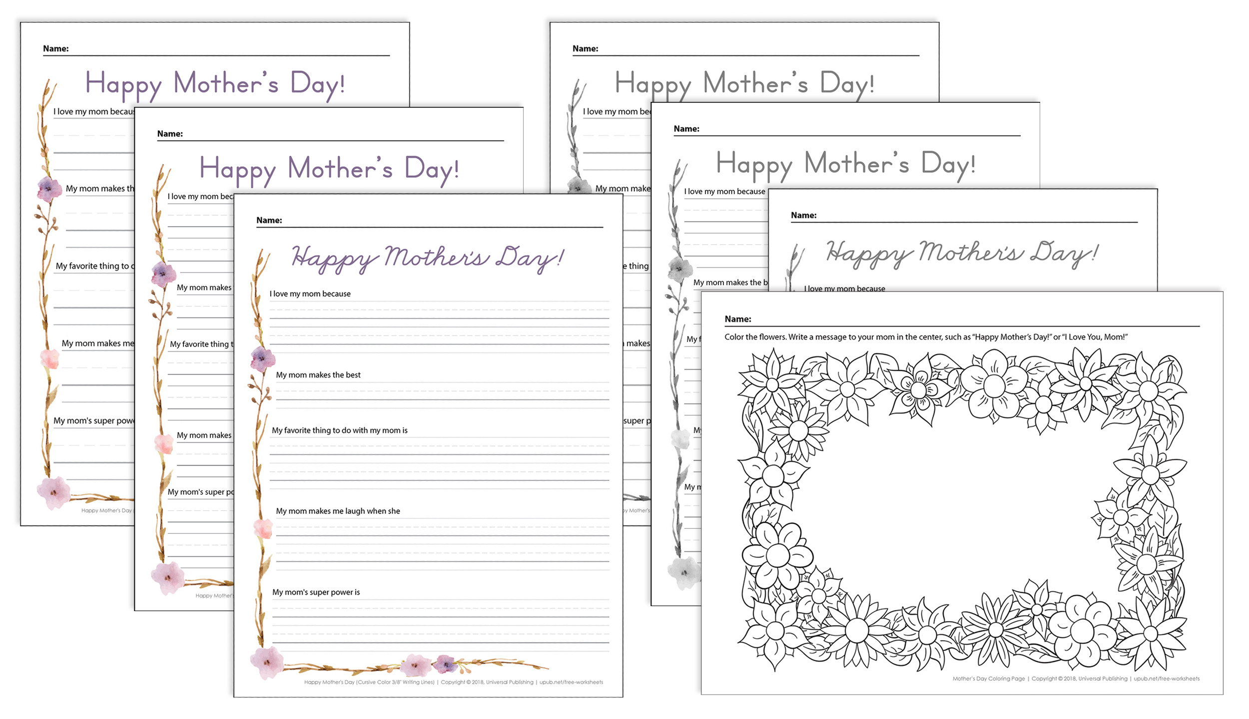 Mother S Day Activities