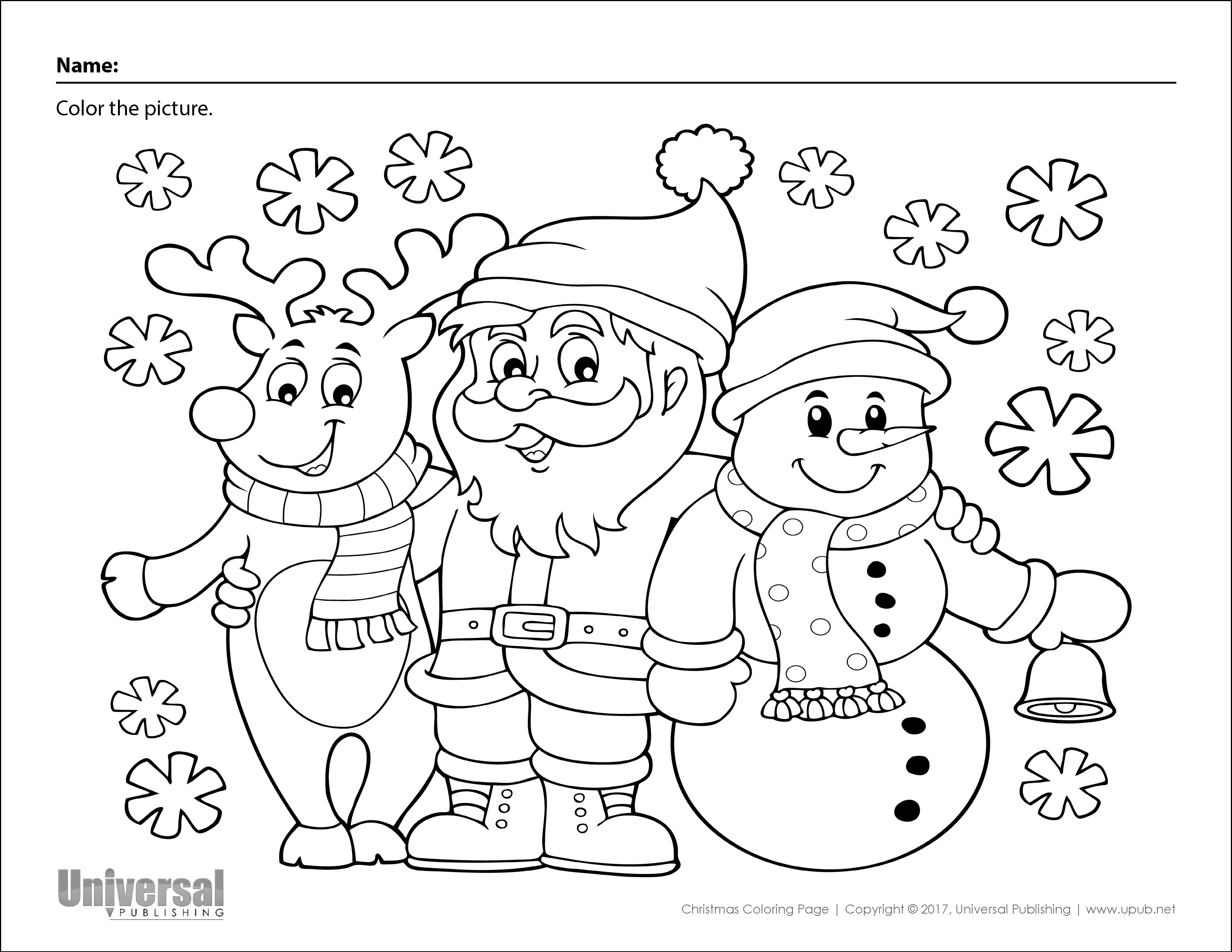 Christmas Activities Free Printables Universal Publishing Blog
