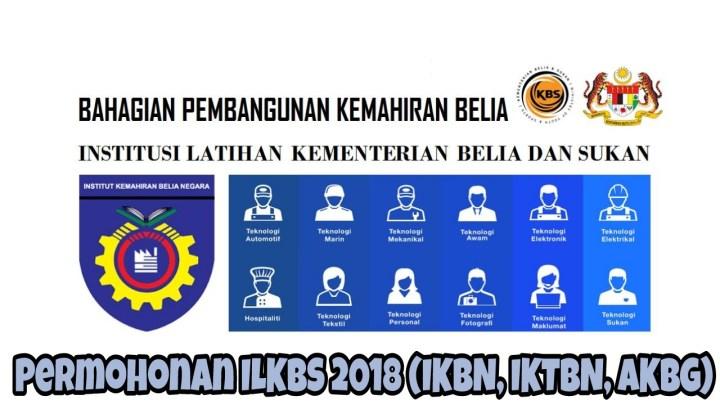 Permohonan ILKBS 2018 (IKBN, IKTBN, AKBG) Online