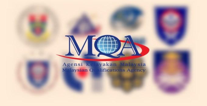 Semakan Kelayakan Kursus Universiti Diiktiraf MQA Online