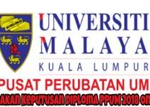 Semakan Keputusan Diploma PPUM 2018 Online