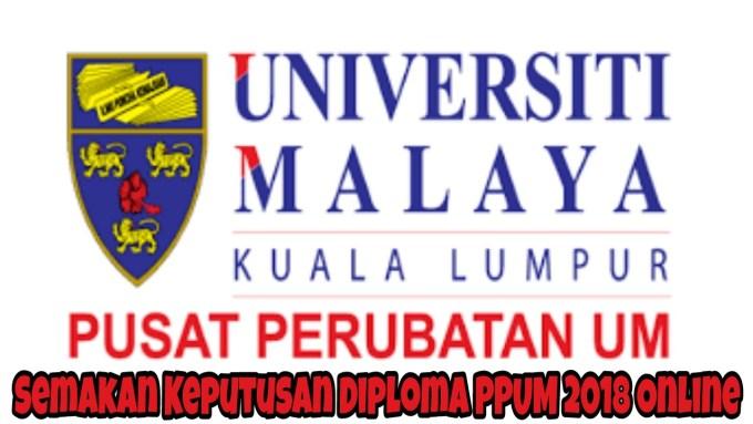 Semakan Keputusan Diploma PPUM 2019 Online