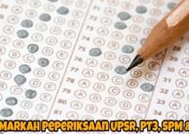 Gred Markah Peperiksaan UPSR, PT3, SPM & STPM 2018