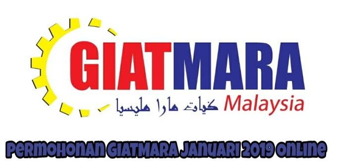 Permohonan GIATMARA 2019 Pengambilan Sesi Julai Online