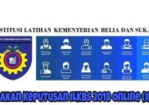 Semakan Keputusan ILKBS 2018 Online (IKBN)