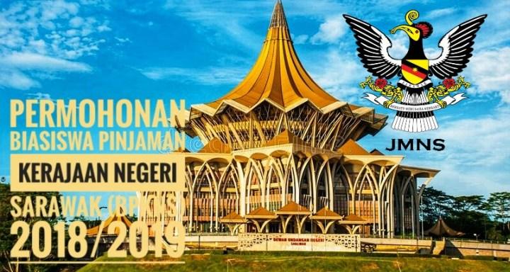 Permohonan Biasiswa Pinjaman Kerajaan Negeri Sarawak (BPKNS) 2018/2019