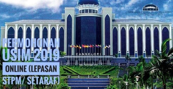 Permohonan USIM 2019 Online (Lepasan STPM/ Setaraf)