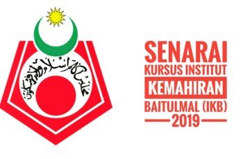 Senarai Kursus Institut Kemahiran Baitulmal (IKB) 2019