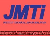 Permohonan Kemasukan JMTI 2019 Institut Teknikal Jepun Malaysia