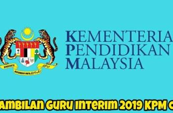 Pengambilan Guru Interim 2019 KPM Online