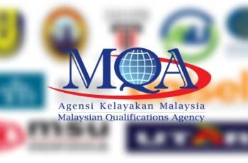 Senarai IPTS Diiktiraf MQA di Seluruh Malaysia