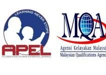 Permohonan APEL Online (Akreditasi Pengalaman Pembelajaran Berasaskan Pengalaman Terdahulu)