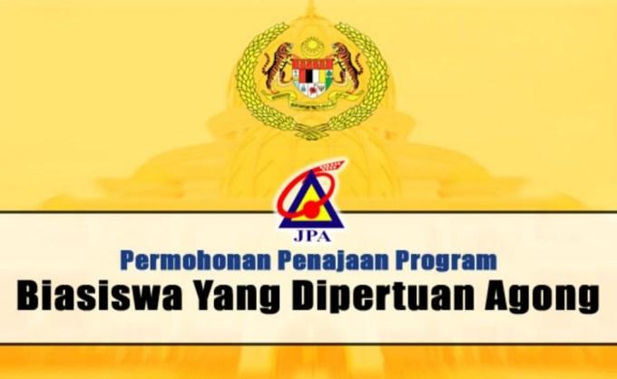 Permohonan Biasiswa Yang Di Pertuan Agong 2019/2020 JPA (BYDPA)