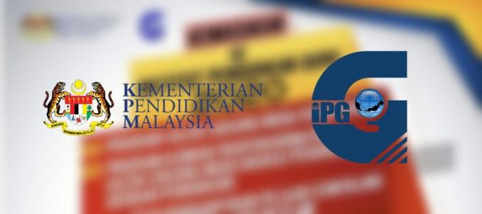Permohonan Institut Pendidikan Guru 2021 IPG PISMP Online