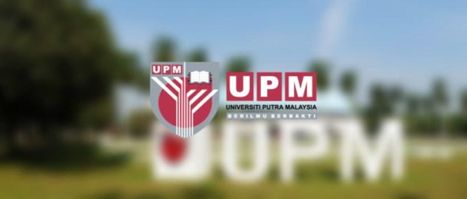 Permohonan Kemasukan UPM 2020 Lepasan STPM/ Setaraf