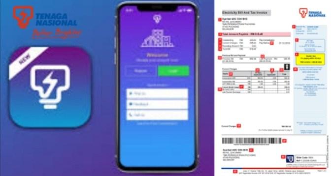 Semakan dan Pembayaran Bil Elektrik Secara Online Melalui myTNB