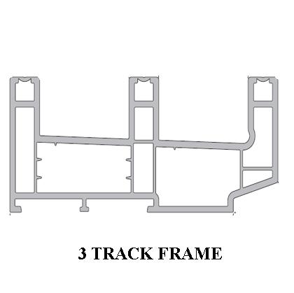 3 Track Sliding Frame