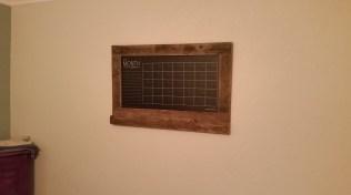 Pallet Calendar