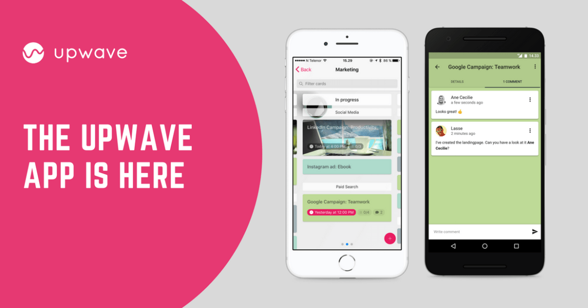 The Upwave app is now available for both Android and iOS!