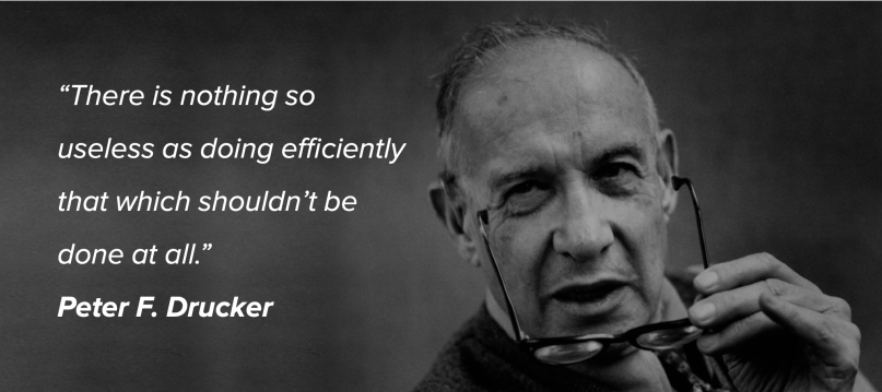 Peter Drucker-quote