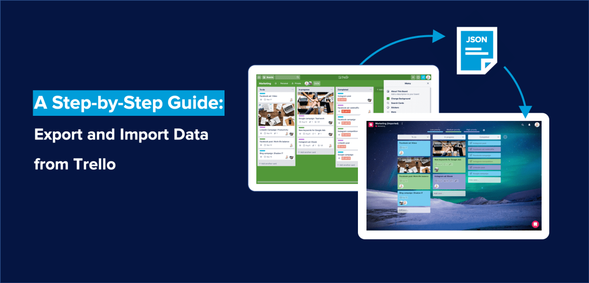 How to Export and Import Data from Trello