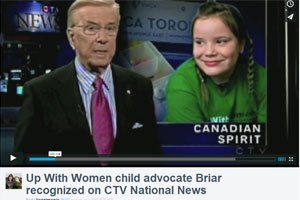 CTV News: Up With Women Girl's Project