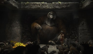 THE JUNGLE BOOK - (L-R) KING LOUIE and MOWGLI. ©2016 Disney Enterprises, Inc. All Rights Reserved.