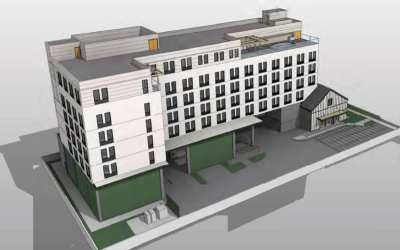 6-Story Hotel Project Could Replace Vacant Industrial Building in Anaheim