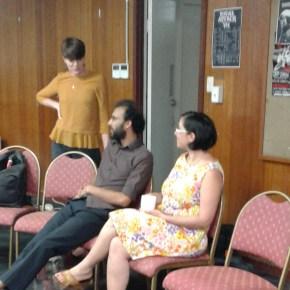 "Dorina Pojani panelist in forum ""How to build neighbourhoods without widening roads"""