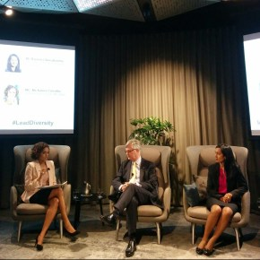 Dorina Pojani attends Cultural Diversity and Innovation panel discussion