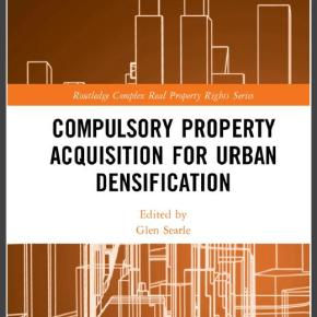 New book by Glen Searle on eminent domain and densification