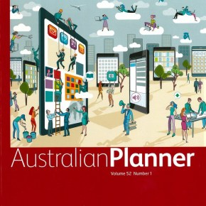 New article on gentrification in Australian Planner, co-authored by Dorina Pojani