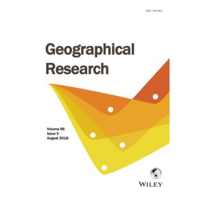 New paper on public participation by UQ|UP team published in Geographical Research