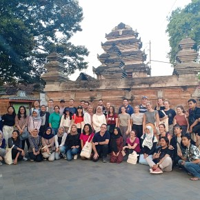 UQ Indonesia field trip course just started