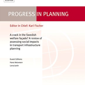 New monograph in Progress in Planning on land use and transport policy by UQ|UP and human geography team