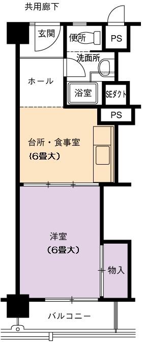 1DK(間取)