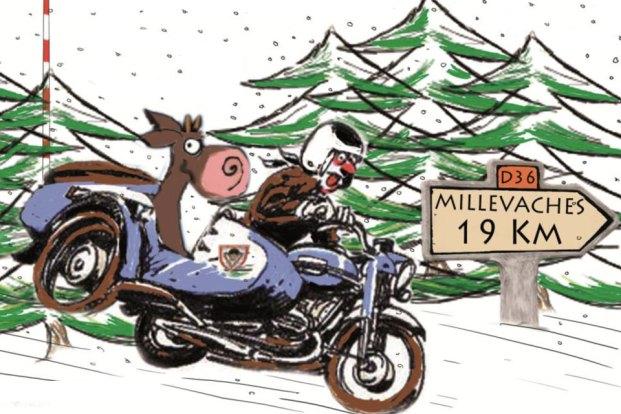 Les Millevaches 2014 MC 19 Meymac URAL FRANCE