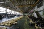 Usine Ural Irbit atelier de montage vue générale expedition URAL FRANCE
