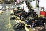 Usine Ural Irbit lot de side-cars en finition URAL FRANCE