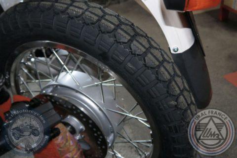 Sortie de la roue Ural EFI URAL FRANCE