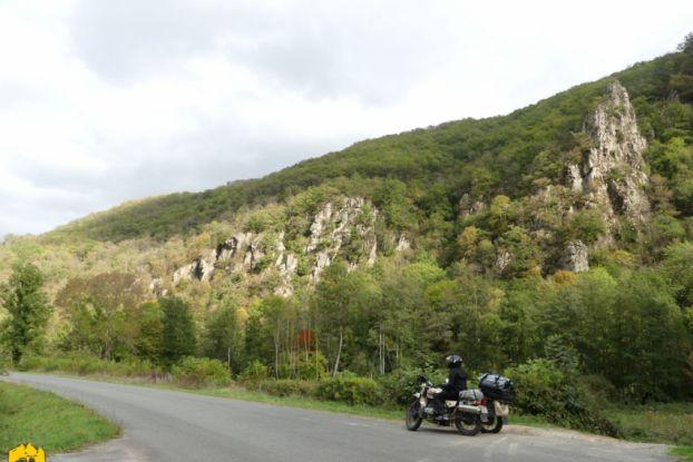 Gorges de la Sioule - Ruralistan tour - Uralistan
