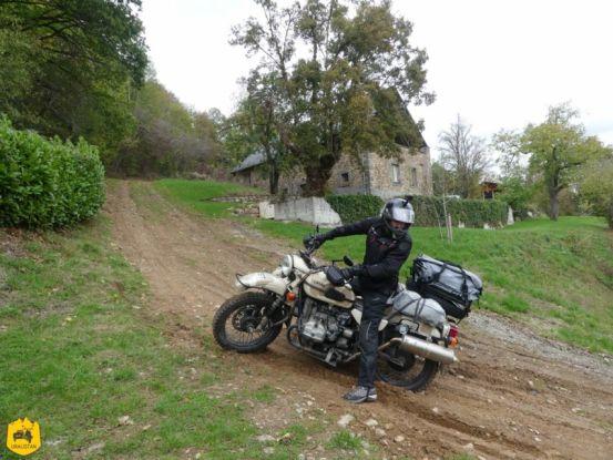 Piste du Trans Euro Trail - Ruralistan tour - Uralistan