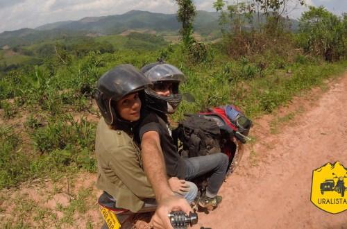 Road trip 2 roues Laos Phongsaly ethnie du nord