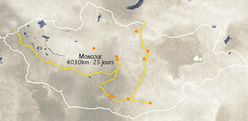 road-trip moto en Mongolie
