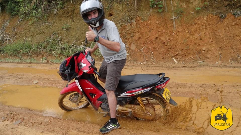Road-trip scooter à Phongsaly au Laos