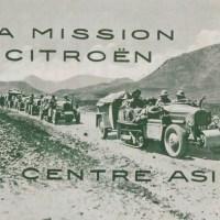 La croisière jaune: l'expédition Citroën de légende